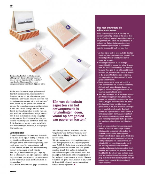 Stroomberg Publish magazine