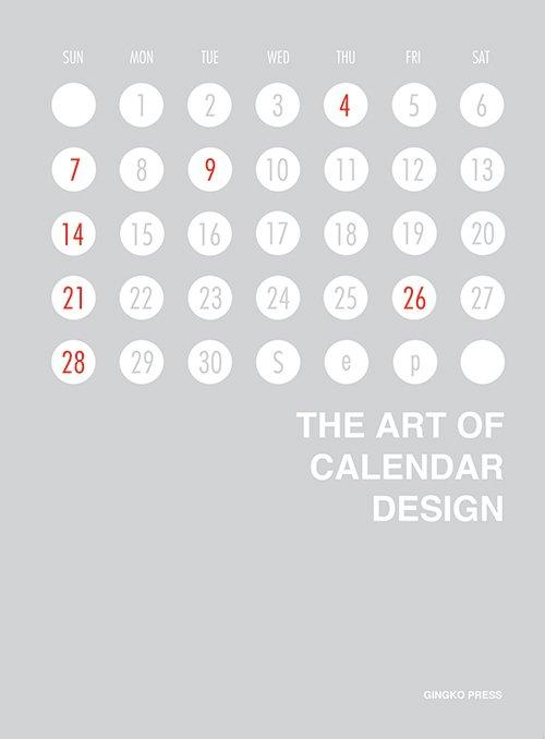 Ginko Press - Cover of The Art of Calendar Design