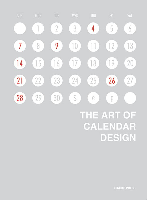 Ginko Press - Cover of The Art of Calendar Design