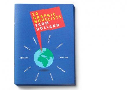 Stroomberg - Nederlands Letterenfonds - 10 Graphic Novelists from Holland