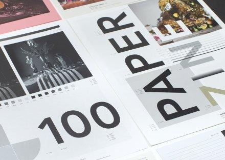 Paperzine sheets, detail