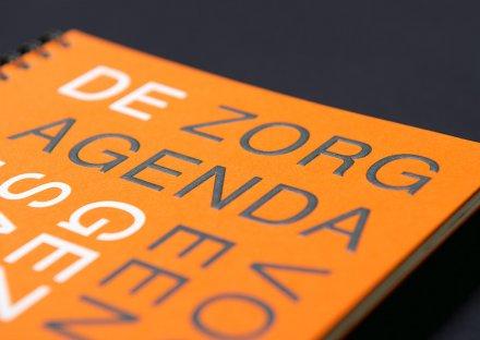 De Zorgagenda voor een gezonde samenleving, detail voorzijde