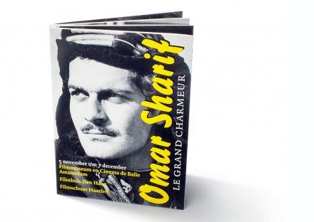 Filmfestival Omar Sharif - kaartenboekje
