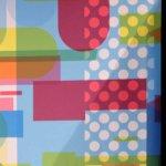 Igepa beursstand – geprinte banieren met patroon